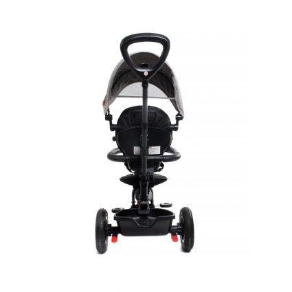 Трехколесный складной велосипед Q Play черный (трансформер)